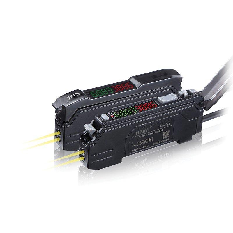 Switch and Analog Output Fiber optic sensor FM-E25