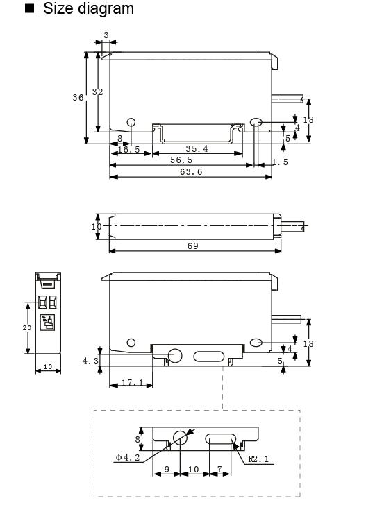 Heyi-Super Small Nonferrous Metal Proximity Sensor Bs-f1   Proximity Sensor-2