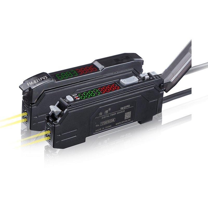 High Precision Digital Fiber optical sensor FM-E21PV3
