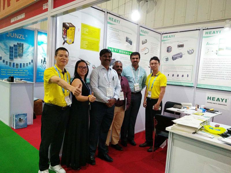 Heyi-Read Electronica India EIBC 2018 was held on 26-28 Sep in Bengaluru News On Heyi Sensor-1
