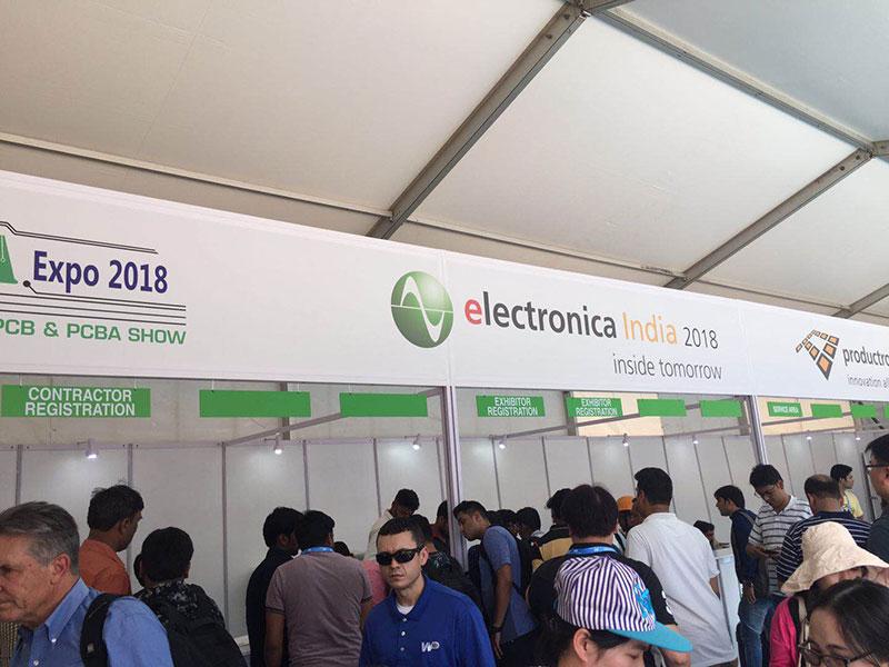 Heyi-Read Electronica India EIBC 2018 was held on 26-28 Sep in Bengaluru News On Heyi Sensor-3