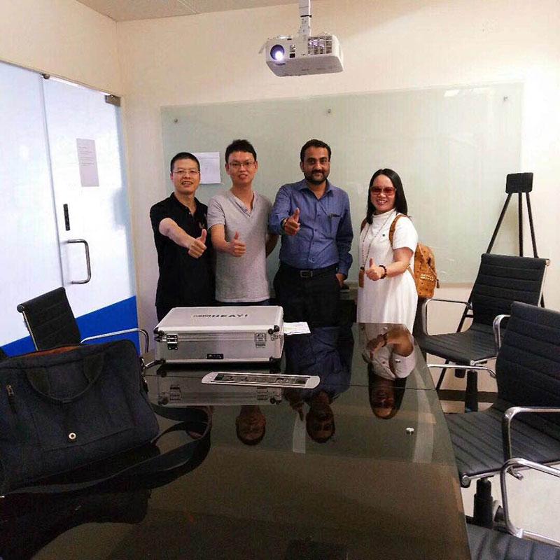 Heyi-Read Electronica India EIBC 2018 was held on 26-28 Sep in Bengaluru News On Heyi Sensor-4