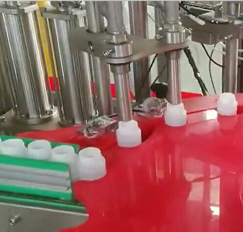 Glue filling machine -- Application of Heyi fiber optic amplifier and detection head