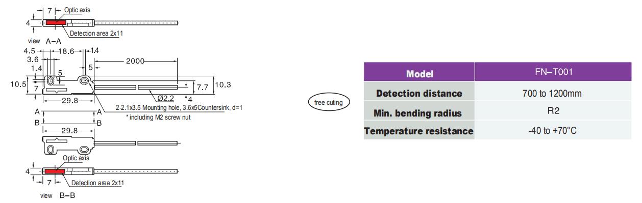 Heyi-Regional Optic Fiber Fn-t001-heyi Sensor-1