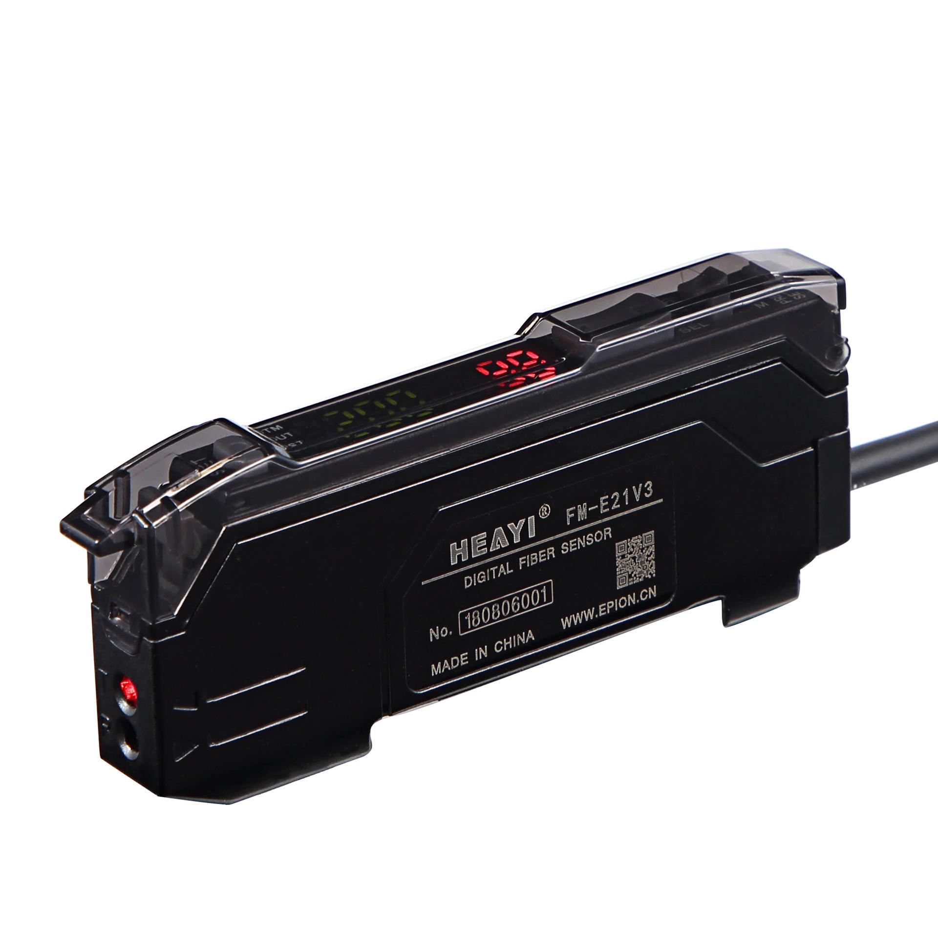 High Precision Digital Fiber optical sensor FM-E21V3