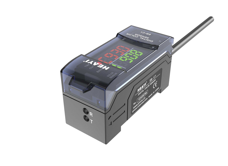 product-Heyi-RGB digital fiber optic sensor EB-C1 intelligent color sensor-img