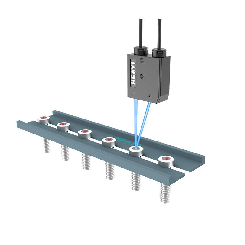 RGB digital fiber optic sensor EB-C1 intelligent color sensor