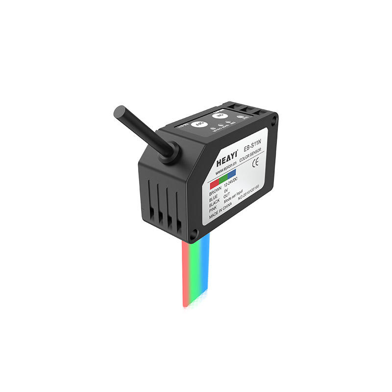 RGB Amplifier & Detection Head All In One Color mark sensor EB-S11
