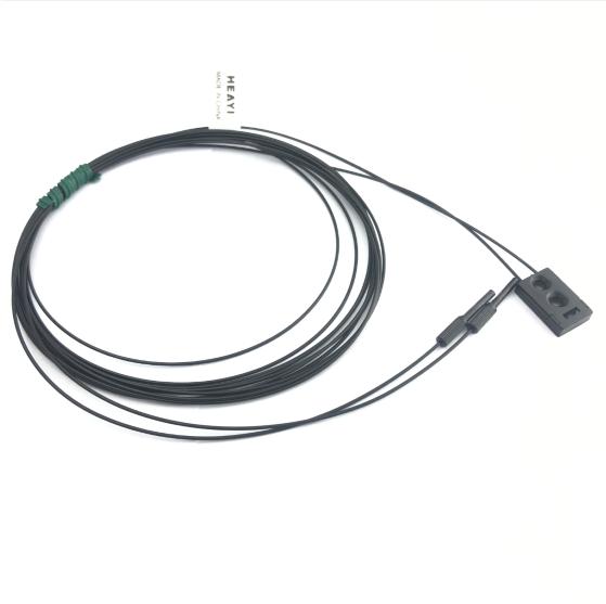 Digital fiber sensor head FN-D010 diffuse reflective R10  bend radius