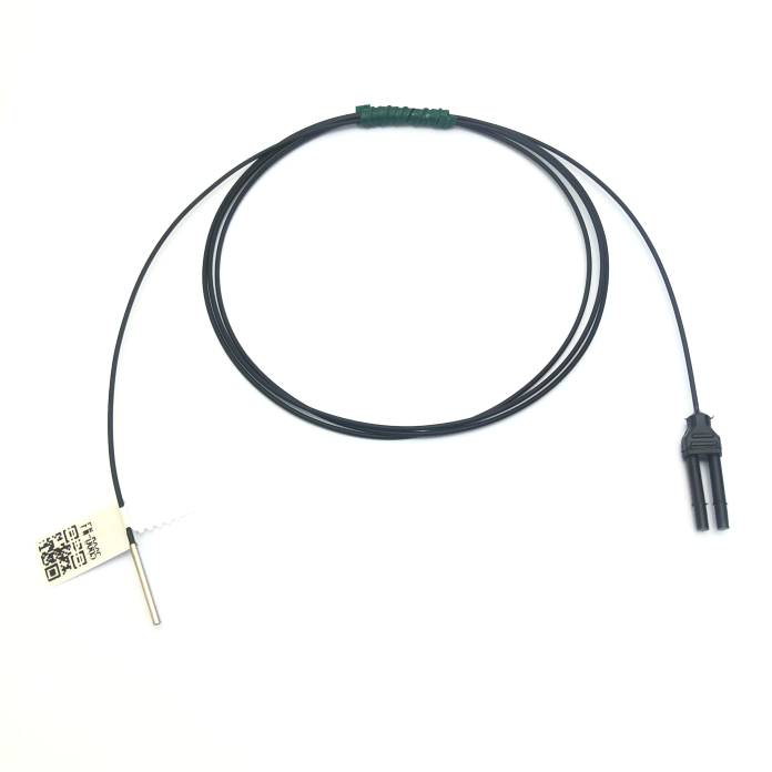 Heyi diffuse reflective coaxial cable  FN-D065  digital fiber sensor head with bending radius R4
