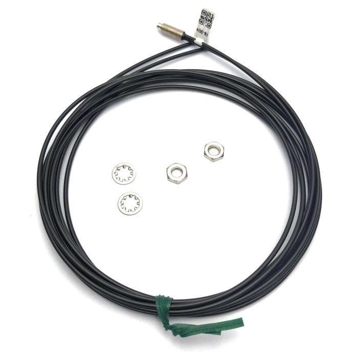 Heyi FN-D074  fiber sensor head diffuse reflective R2 bend radius diameter M6 fiber