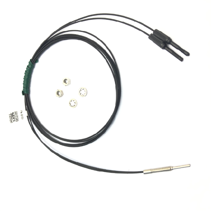 High quality product Heyi FN-D131  fiber sensor head diffuse reflective R10 bend radius