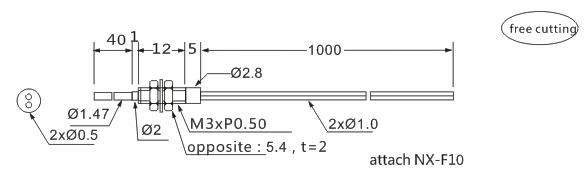 product-Heyi-Heyi Optical fiber sensor head-img-1