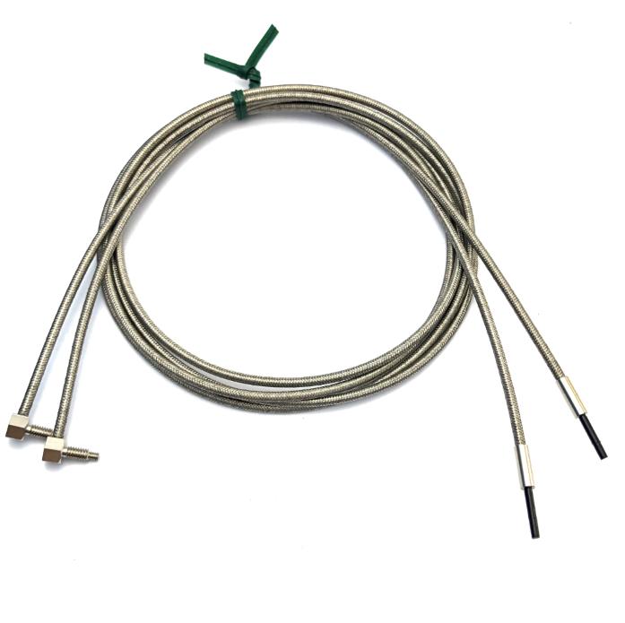 Heyi FN-T056 stainless steel sensor  through beam sensor R10 bend radius with 90 degree right angle