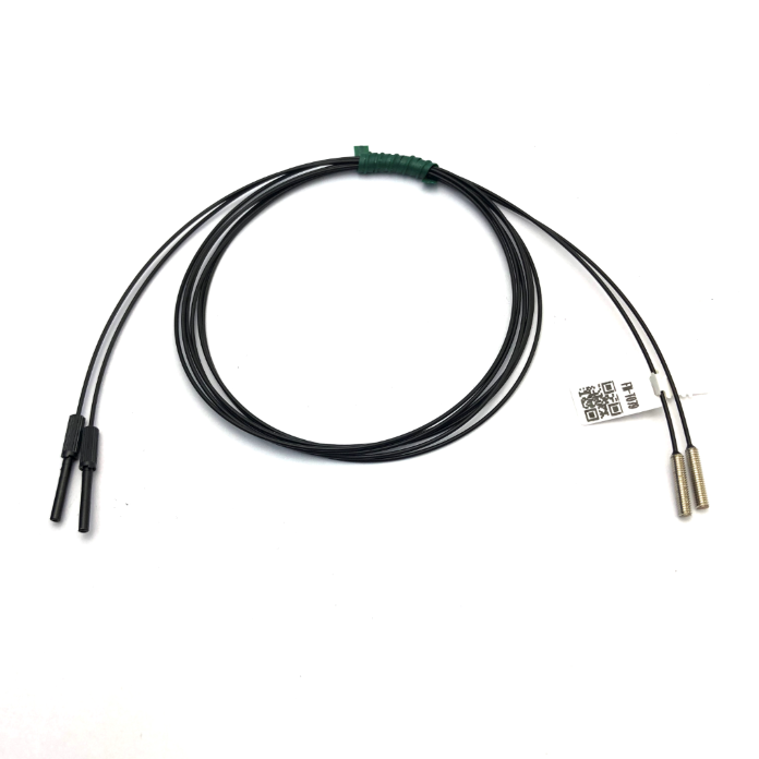 Heyi high-quality FN-T079 optic fiber sensor head through beam sensor R10 bend radius