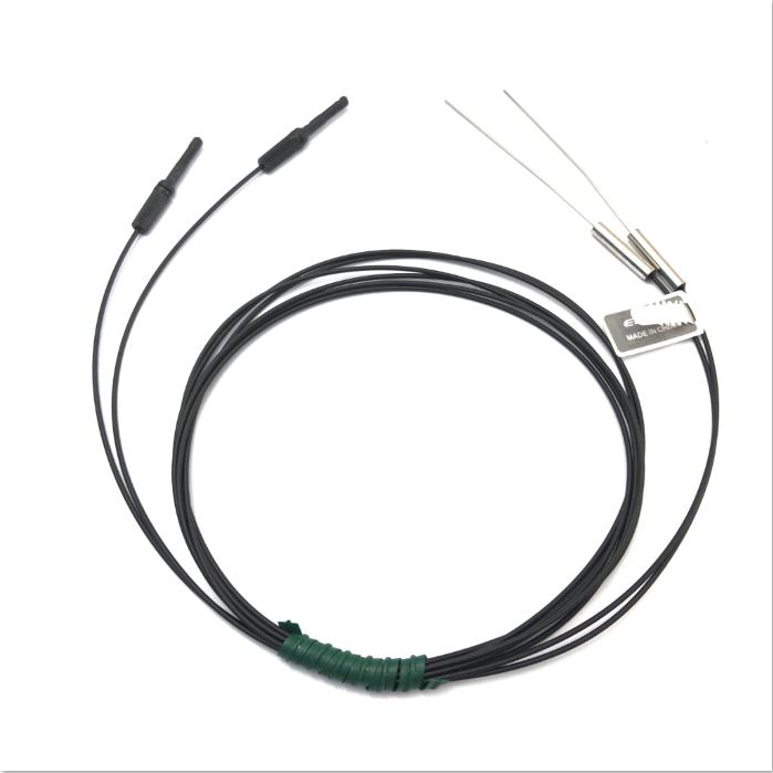 Heyi stainless steel  FN-T101super small optic fiber sensor head through beam sensor R10 bend radius with high quality