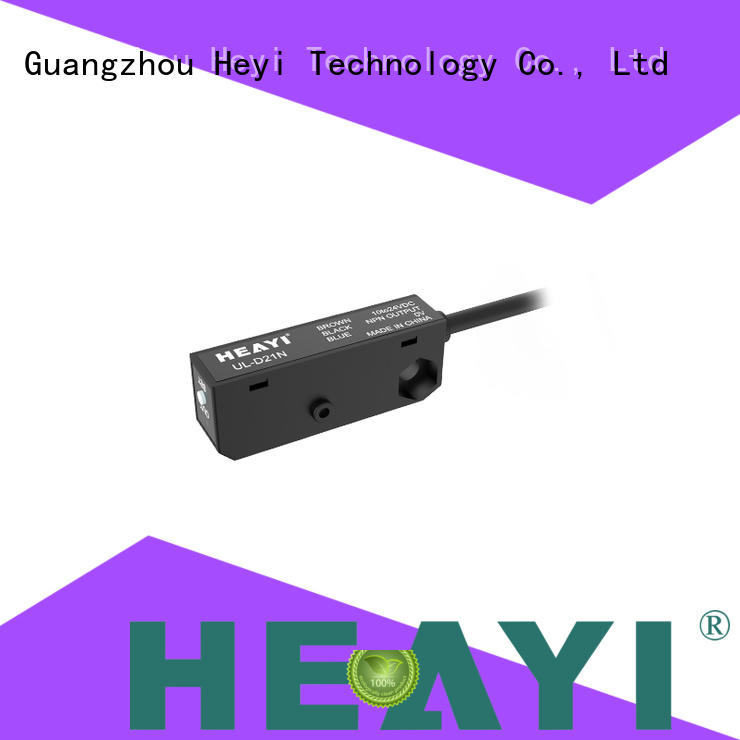 Heyi through type photoelectric sensor supplier company for packaging equipment