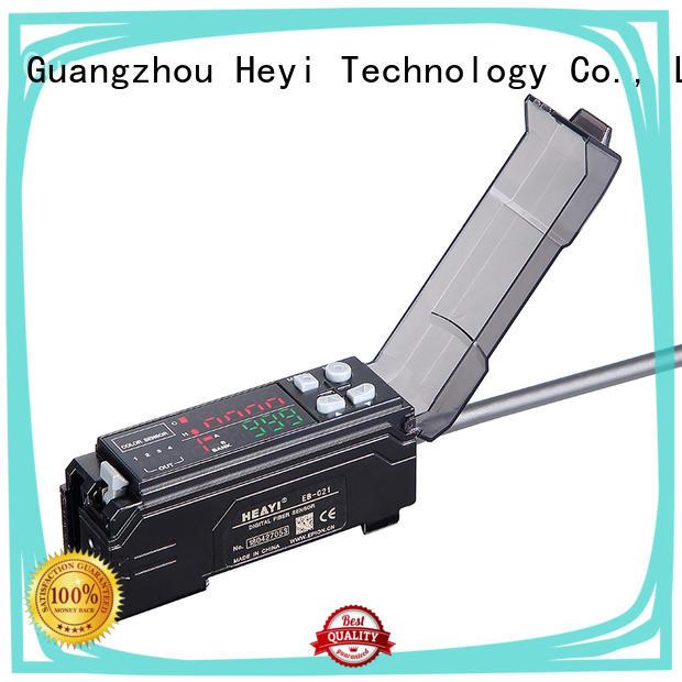Heyi fiber colour mark sensor supplier for battery equipment