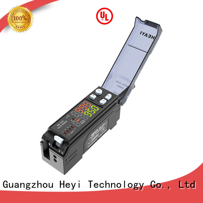 Heyi latest color mark sensor supply for battery equipment