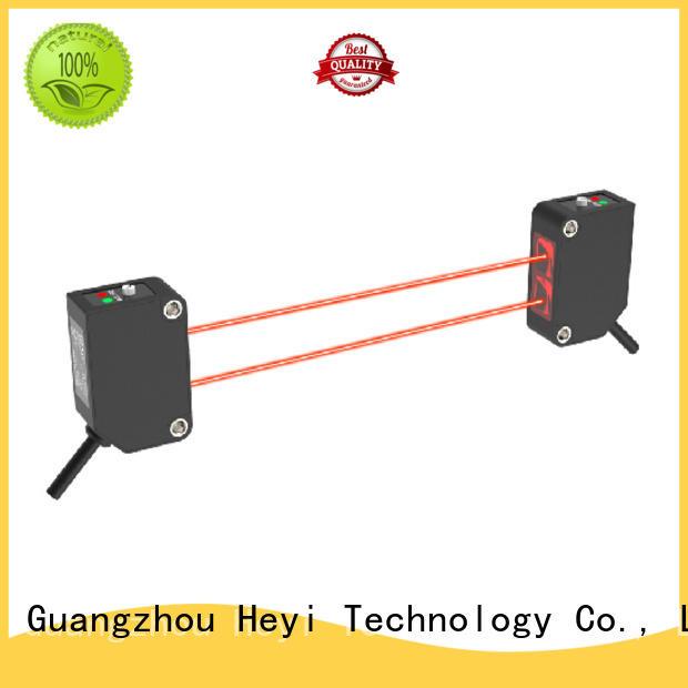 Heyi thru beam photoelectric sensor manufacturer for led sorting machine