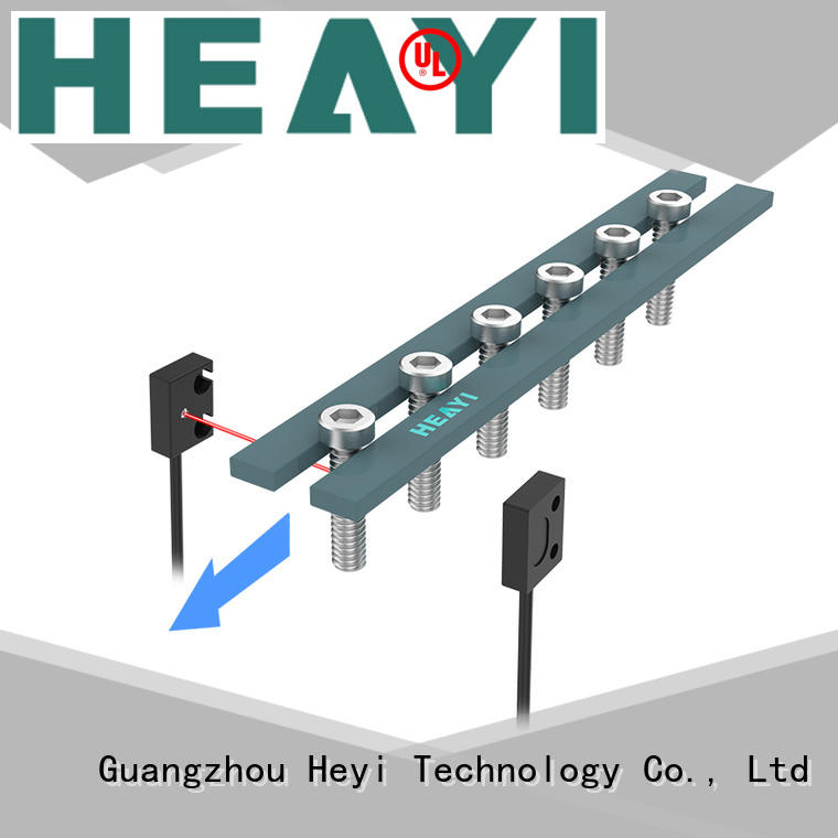 latest micro photoelectric sensor with detection head for battery equipment