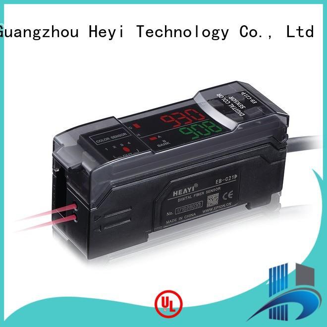 Heyi rgb color sensor series for battery equipment